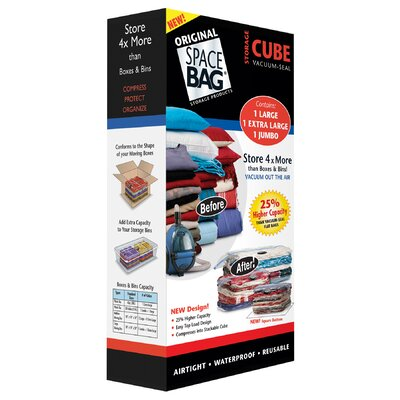 Johnson Wax Bag Cube (Set of 3)