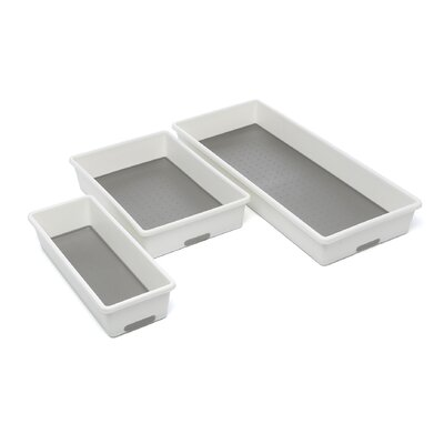 Made Smart Housewares Three Piece Organizing Tray (Set of 3)