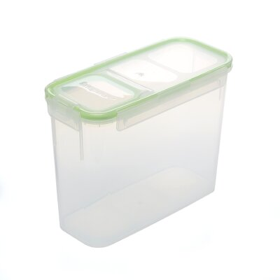 11 Cup Slim Flip Top Rectangular Storage Container