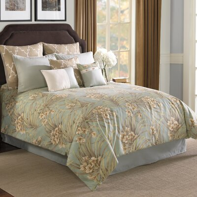 Hallmart Collectibles St. Lucia Comforter Set