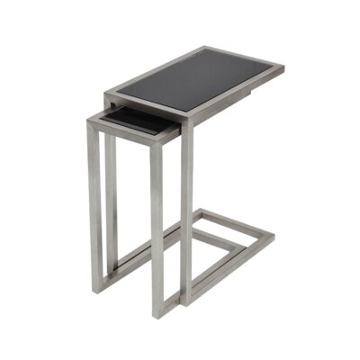 sohoConcept Alfa Glass End Table
