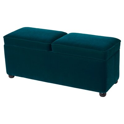 Polyester Double Storage Bedroom Bench