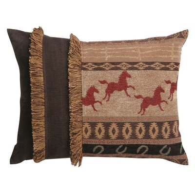 Jennifer Taylor Clovis Pillow with Brush Fringe