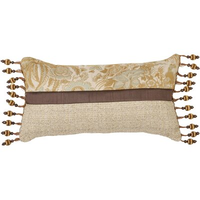Jennifer Taylor St. Lucia Synthetic Pillow with Ball Tassel Trim