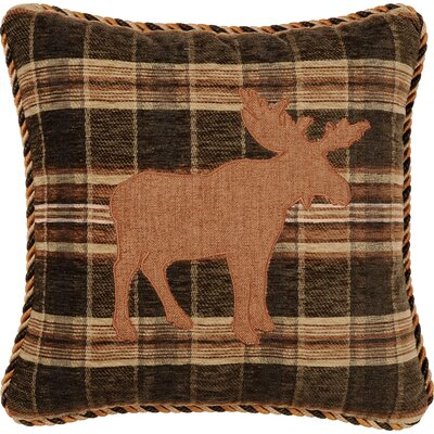 Woodland Synthetic Pillow with Cordand Applique
