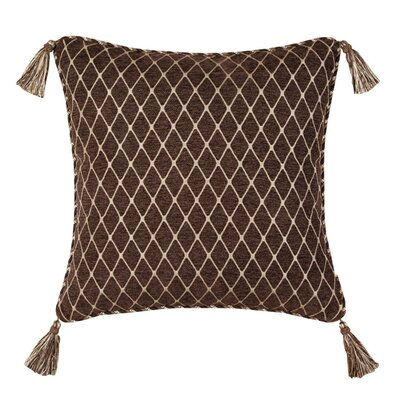 Broderick Synthetic Pillow with Tassel