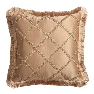 Alamosa Pillow with Braid and Brush Fringe