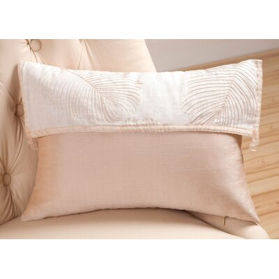 Sandy Wilson Organic Decorative Pillow with Ribbon