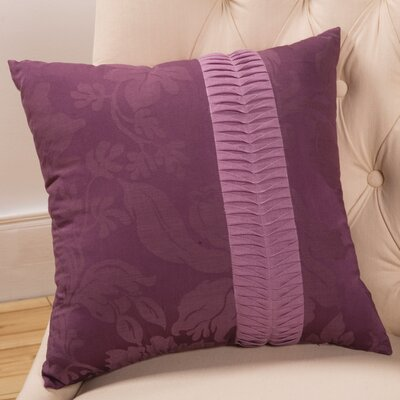 Sandy Wilson Daphne Decorative Pillow with Pleated Cord