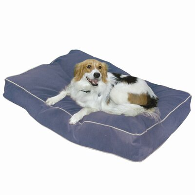 Buster Pillow Dog Bed in Denim