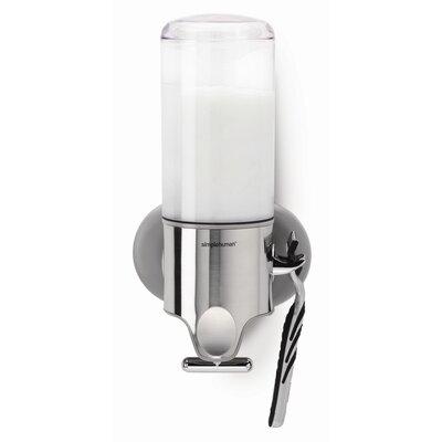Simplehuman Triple Plastic Adhesive Mount Soap Dispenser