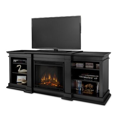 "Real Flame Fresno 72"" TV Stand with Electric Fireplace"