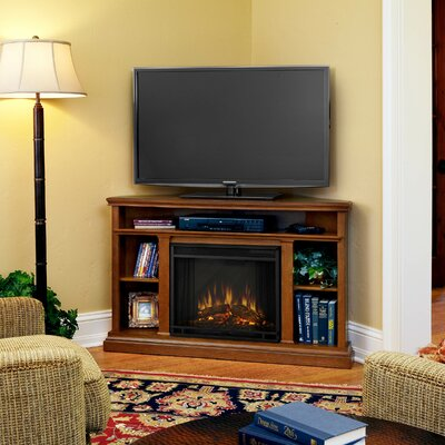 "Real Flame Churchill 51"" TV Stand with Electric Fireplace"