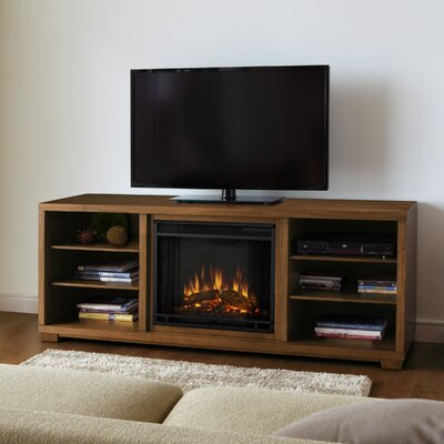 "Real Flame Marco 69"" TV Stand with Electric Fireplace"