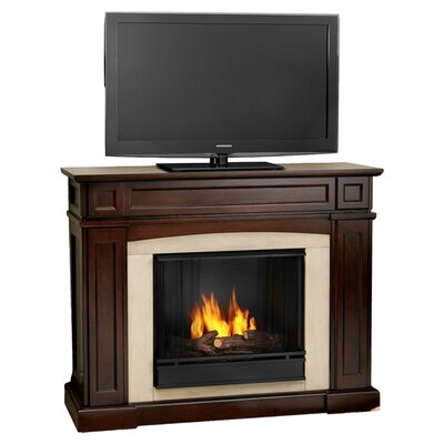 Real Flame Rutherford Ventless Tv Stand With Gel Fuel Fireplace Reviews Wayfair