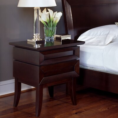 Brownstone Furniture Bancroft 2 Drawer Nightstand