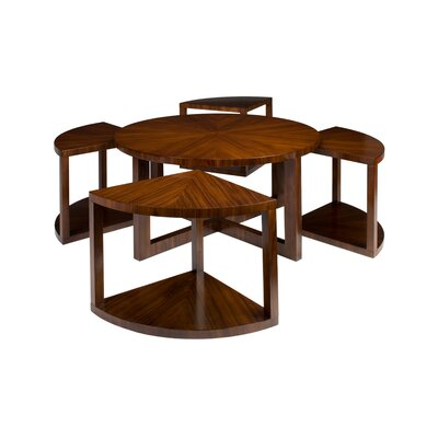 Brownstone Furniture Presidio Coffee Table with Stools