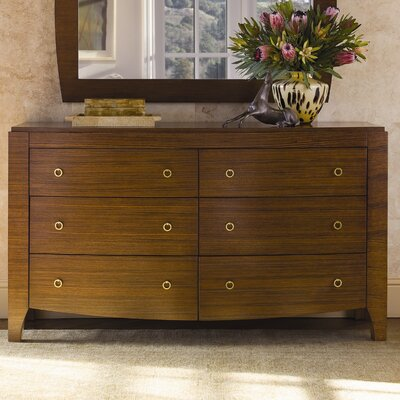 BrownstoneFurniture Mercer 6 Drawer Dresser