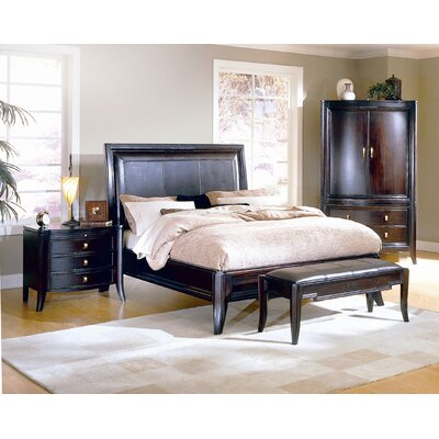 Brownstone Furniture Lisbon Queen Sleigh Bedroom Collection