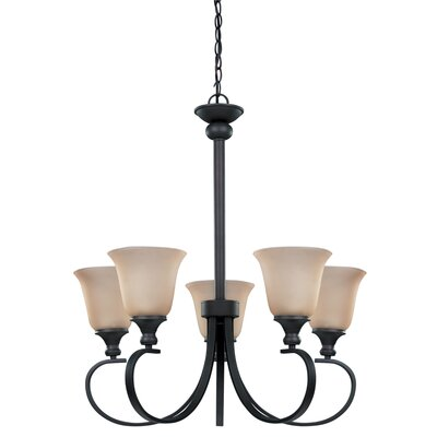 Canarm Carter 5 Light Chandelier