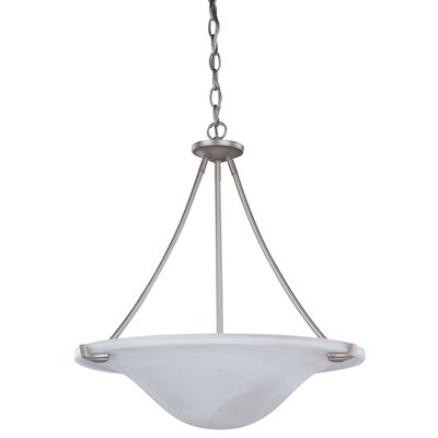 Canarm Nouveau 3 Light Chandelier