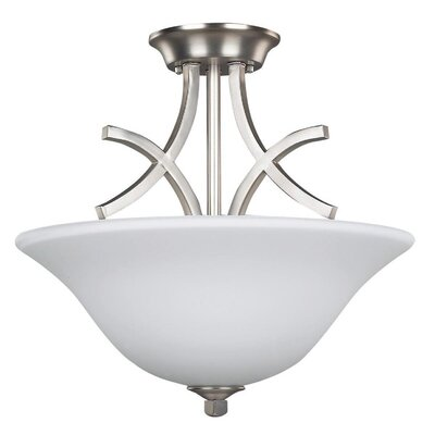 Canarm Royal Flamenco 3 Light Semi-Flush Mount