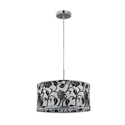 Canarm Campbell 3 Light Drum Pendant