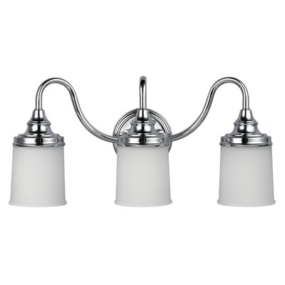 Canarm Barkley 3 Light Bath Vanity Light