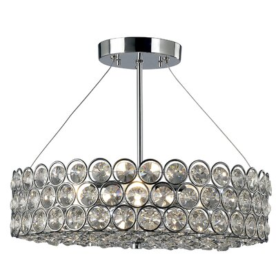 Canarm Alice 3 Light Semi-Flush Mount