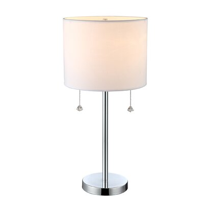 "Canarm Monti 22.5"" H Table Lamp with Drum Shade"