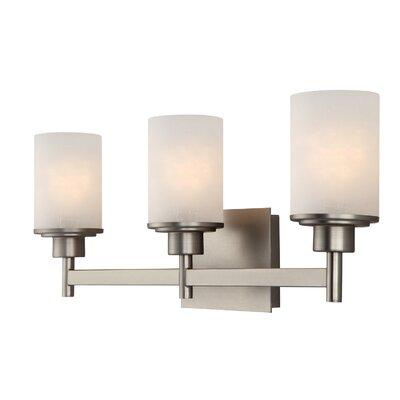 Vanity Lights Wayfair : Canarm Lyndi 3 Light Bath Vanity Light & Reviews Wayfair