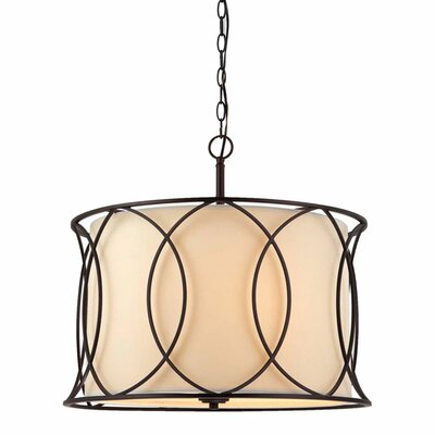 Canarm Monica 3 Light Chandelier
