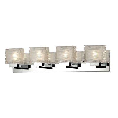 Canarm zen 4 light vanity light reviews wayfair for Zen bathroom lighting