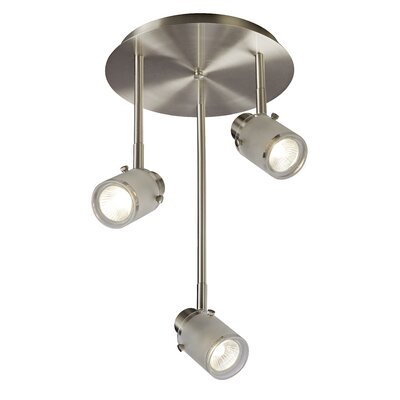 Canarm Cole 3 Light Ceiling/Wall Light
