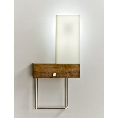 Cerno Cubo Bedside Hybrid Reading Light Swing Arm Wall Sconce