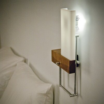 Wall Sconces Bedside : Cerno Cubo Bedside Hybrid Reading Light Swing Arm Wall Sconce AllModern