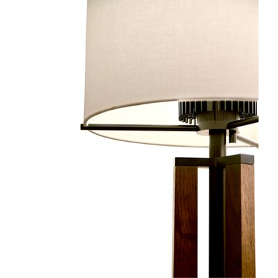 "Cerno Forma  32"" H Table Lamp with Drum Shade"