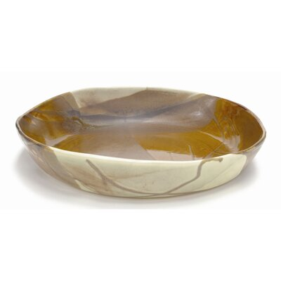 "Alex Marshall Studios 15"" Low Bowl"
