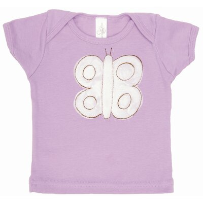 Alex Marshall Studios Butterfly Lap T Shirt in Lavender