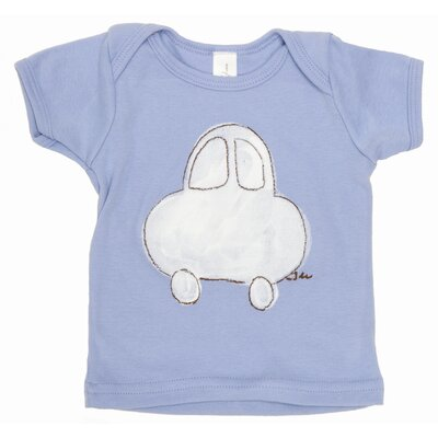 Car Lap T Shirt in Blue