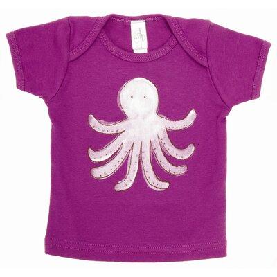 Alex Marshall Studios Octopus Lap T Shirt in Purple