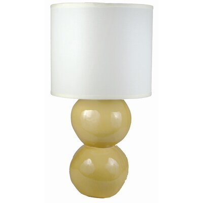 "Alex Marshall Studios Sphere 21.5"" H Table Lamp with Drum Shade"
