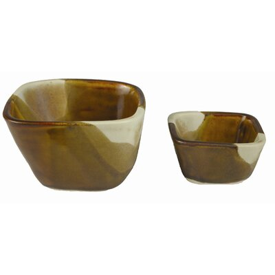 "Alex Marshall Studios 4"" Square Bowl"