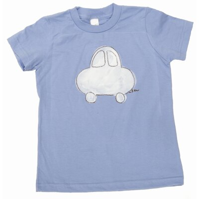 Car T Shirt in Blue