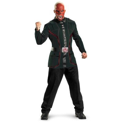 Disguise Costumes Red Skull Movie Adult Deluxe Costume