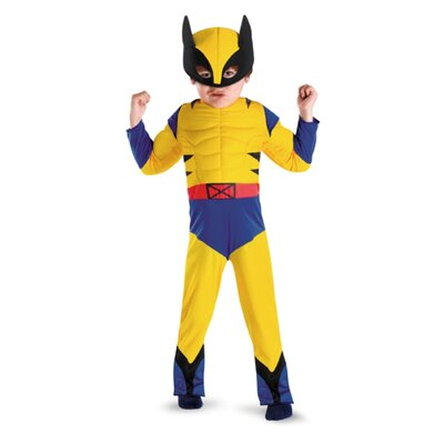 Disguise Costumes Wolverine Toddler Muscle Costume