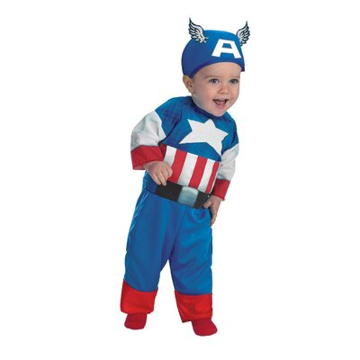 Disguise Costumes Captain America Infant Costume