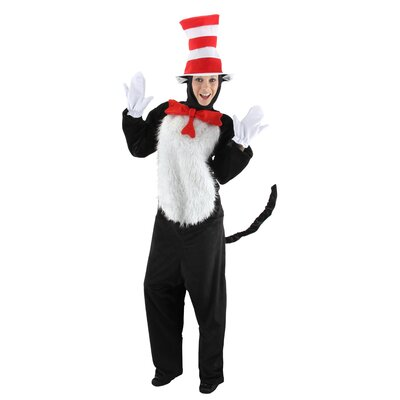 Elope Costumes Dr. Seuss Cat In The Hat Adult Deluxe Costume