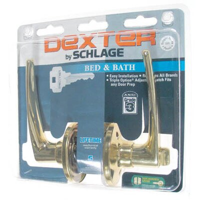 Schlage Dover Bed and Bath Privacy Levers