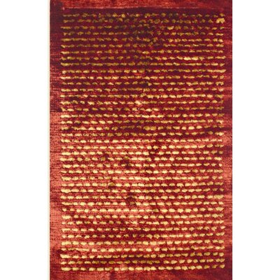 MevaRugs Royal Shag Rust/Gold Rug
